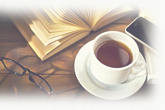 カフェのような塾のイメージ画像、パソコン用画像